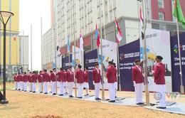 Lễ thượng cờ đoàn thể thao người khuyết tật Việt Nam tham dự ASIAN Para Games 3