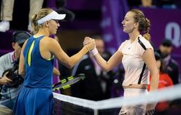 Petra Kvitova và Caroline Wozniacki giành quyền dự WTA Finals
