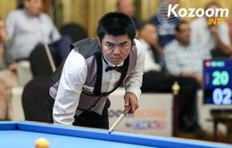 Nguyễn Quốc Nguyện giành HCĐ Billiards thế giới