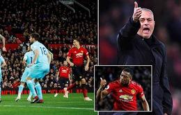 Man Utd 3-2 Newcastle: Chiến thắng kịch tính ở Old Trafford của Mourinho và các học trò!