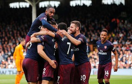 VIDEO Fulham 1-5 Arsenal: Mãn nhãn hàng công Pháo thủ