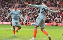VIDEO tổng hợp diễn biến Southampton 0-3 Chelsea (Vòng 8 Ngoại hạng Anh)