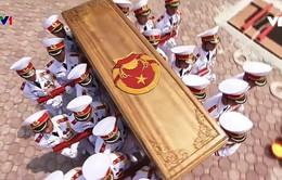Cử hành trọng thể Lễ an táng nguyên Tổng Bí thư Đỗ Mười