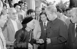 Nguyên Tổng Bí thư Đỗ Mười – Người cộng sản kiên trung, nhà lãnh đạo tài năng đức độ, hết lòng vì nước, vì dân