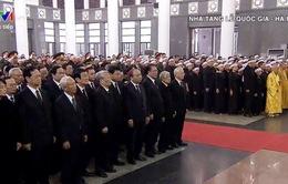 Trực tiếp Lễ truy điệu nguyên Tổng Bí thư Đỗ Mười