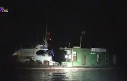 Bắt giữ tàu chở dầu lậu tại Hải Phòng
