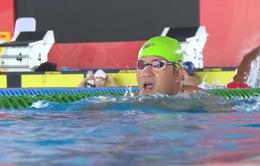 Nguyễn Thành Trung mang về tấm HCV đầu tiên cho đoàn Thể thao Người khuyết tật Việt Nam