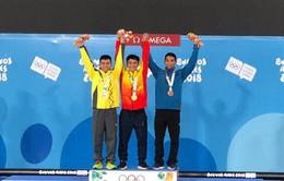 Ngô Sơn Đỉnh xuất sắc giành HCV cử tạ ở Olympic trẻ 2018