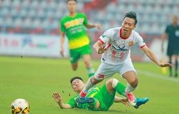 XSKT Cần Thơ 1-1 CLB Nam Định: Cần Thơ xuống hạng, Nam Định giành quyền đá play-off