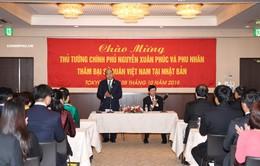 Thủ tướng thăm cộng đồng người Việt tại Nhật Bản