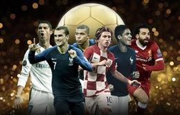 Điểm tên những ứng viên sáng giá cho danh hiệu Quả bóng Vàng 2018