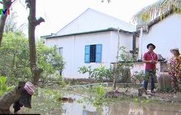 Vĩnh Long: Nhiều xã cù lao bị ngập sâu