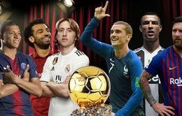 Danh sách 30 đề cử Quả bóng Vàng 2018: Real Madrid và ĐT Pháp áp đảo
