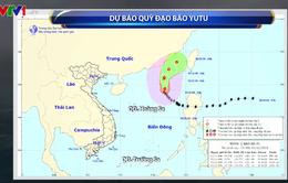 Bão số 7 cách huyện đảo Hoàng Sa khoảng 560km, giật cấp 12