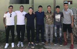 Cựu tiền vệ Nguyễn Minh Châu về Việt Nam sau 1 năm định cư tại Australia