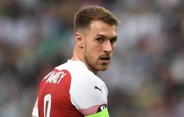 Chia tay Arsenal, Ramsey làm đồng đội của Ronaldo