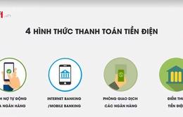 Hà Nội đẩy mạnh thu tiền điện qua trích nợ ngân hàng