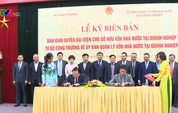 Bàn giao 6 doanh nghiệp về Ủy ban Quản lý vốn nhà nước