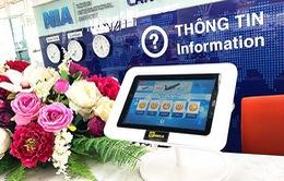 Sân bay Nội Bài thí điểm hệ thống nhận phản hồi điện tử