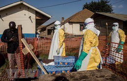 Dịch Ebola tại CHDC Congo có nguy cơ vượt khỏi tầm kiểm soát