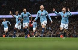 VIDEO Man City 3-1 Man Utd: Thành Manchester phủ màu xanh