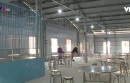 Nâng cấp bếp ăn tạm ở các trường nội trú vùng cao Quảng Nam