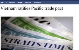 Truyền thông thế giới đưa tin Việt Nam phê chuẩn CPTPP