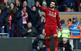 Chỉ có 2 đội bóng Ngoại hạng Salah chưa từng ghi bàn