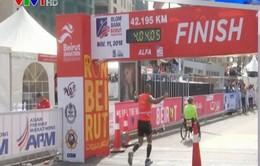 46.000 vận động viên tham gia giải thi marathon quốc tế tại Lebanon