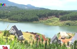 Lâm Đồng yêu cầu tháo dỡ công trình xâm phạm di tích hồ Tuyền Lâm