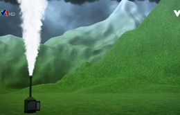 Máy tạo mưa nhân tạo tại Tây Tạng