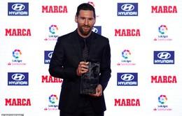 Lionel Messi ẵm trọn bộ danh hiệu tại lễ trao giải Marca