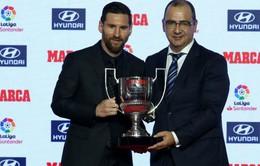 Tờ báo thân Real trao giải Pichichi cho Leo Messi