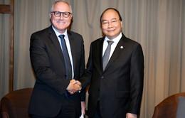 Thủ tướng Nguyễn Xuân Phúc đề nghị Sembcorp mở rộng đầu tư tại Việt Nam
