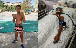 Võ sĩ Muay Thái 13 tuổi thiệt mạng