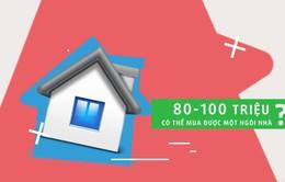 Có thể sở hữu một căn nhà chỉ với 80 triệu đồng?