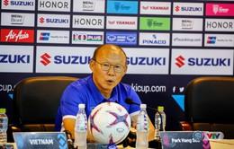 AFF Cup 2018: HLV Park Hang Seo quyết giành chiến thắng trước Malaysia cùng tuyển Việt Nam