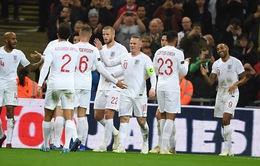 ĐT Anh giành chiến thắng trong trận đấu tri ân Wayne Rooney