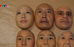Choáng với những chiếc mặt nạ 3D y như thật