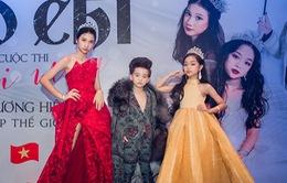 Dàn mẫu nhí Việt Nam được vinh danh tại cuộc thi Người mẫu thương hiệu cao cấp thế giới