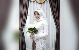 Xúc động ảnh cưới không chú rể của hôn thê nạn nhân máy bay Lion Air