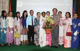 Hội Khmer - Việt Nam tại Campuchia kỷ niệm ngày Nhà giáo Việt Nam
