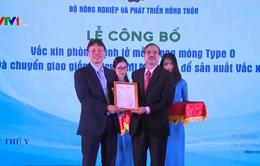 Việt Nam sản xuất thành công vaccine lở mồm long móng