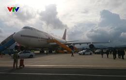 Tổng thống Ấn Độ đến Đà Nẵng, bắt đầu chuyến thăm cấp Nhà nước tới Việt Nam