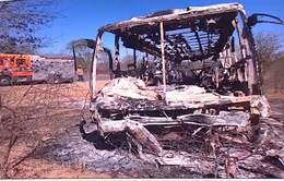 Nổ xe bus ở Zimbabwe, ít nhất 42 hành khách thiệt mạng