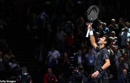 Novak Djokovic lần thứ 7 vào chung kết ATP Finals