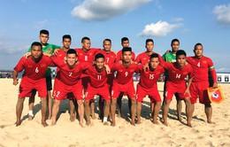 ĐT bóng đá bãi biển Việt Nam đánh bại Malaysia sau màn rượt đuổi tỷ số kịch tính