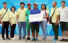 Đại hội thể thao toàn quốc 2018: 4 HCV đầu tiên môn Bi sắt đã có chủ