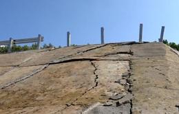 Quảng Ngãi: Khu tái định cư  chưa hoàn thành đã hư hỏng