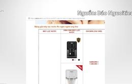 Sở Y tế TP.HCM yêu cầu ngừng quảng cáo máy lọc nước Yakyo ngừa ung thư